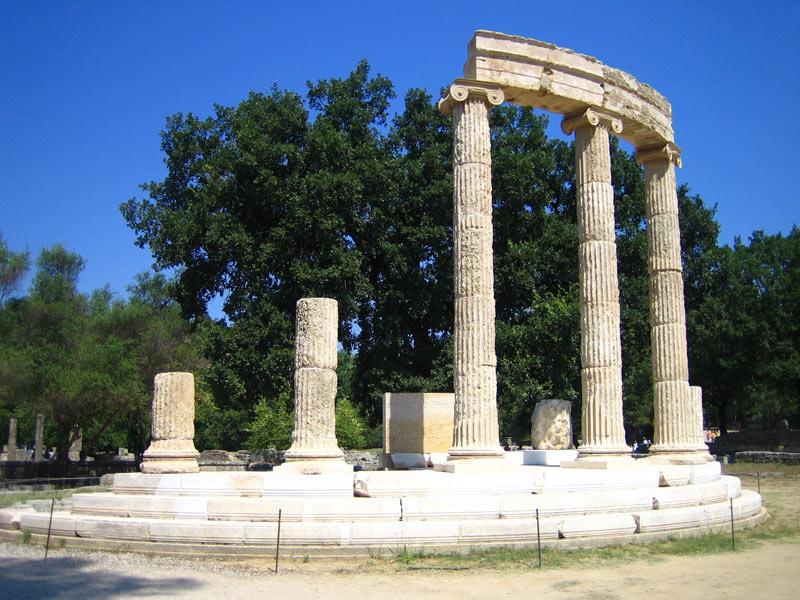 Olympia_Philippion_Temple
