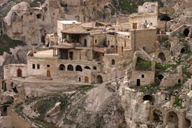 Cappadocia-Turkey-Houses
