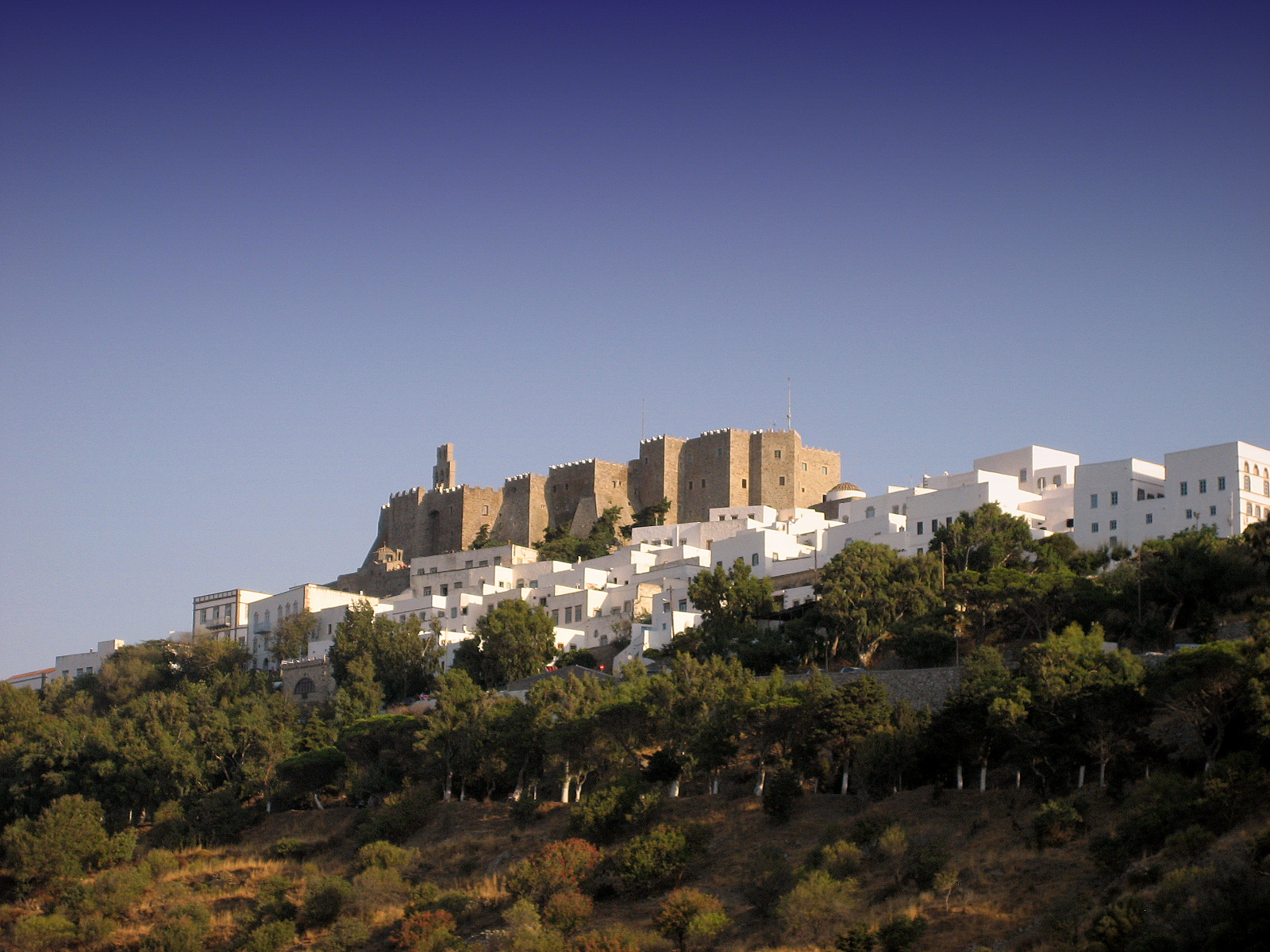 Patmos_Island_Greece_The_Castle