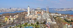 The church of Aghia Sophia in Istanbul