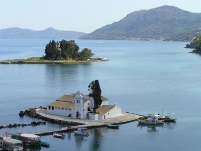 Corfu Kerkyra Island Greece