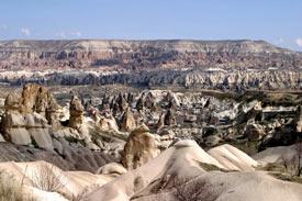 Cappadocia-Turkey-View-of-the-Valley