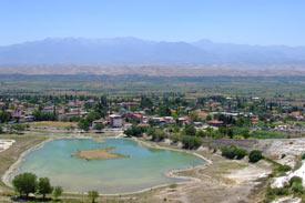 Pamukkale-Valley-Town-Turkey