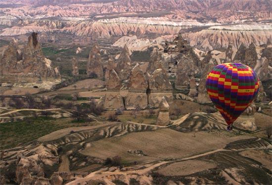Cappadocia Turkey Valley