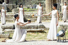 Olympic-Flame-Olympia-Greece