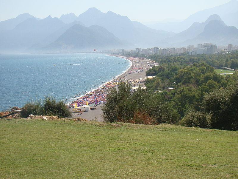 Antaly Beach Turkey
