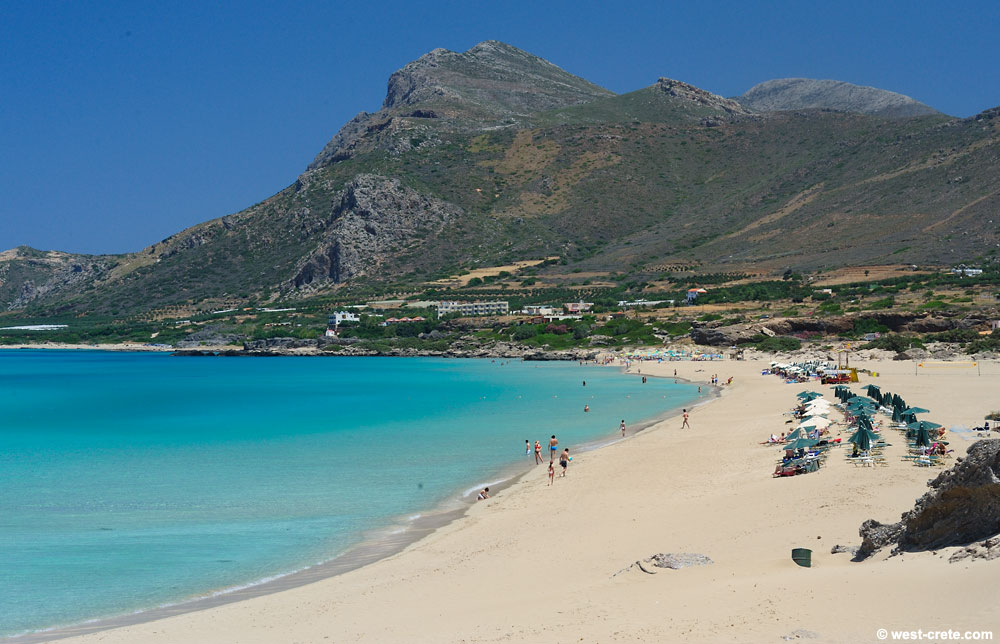 Falassarna Beach Chania Crete Greece