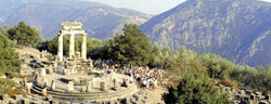 Delphi Archaeological Site Greece